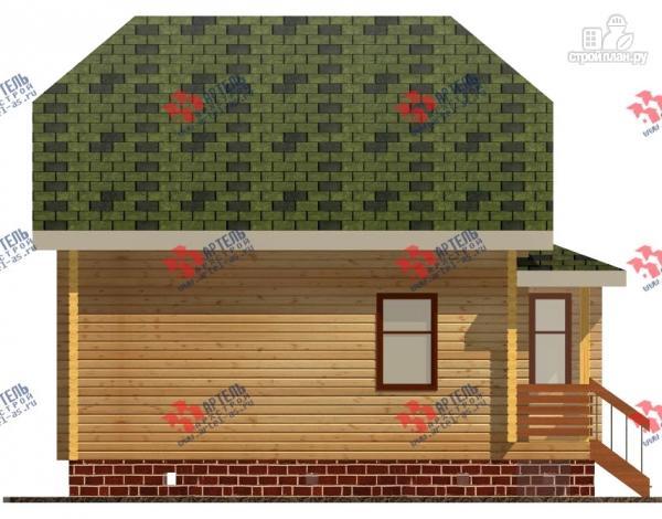 Фото 2: проект дом из бруса