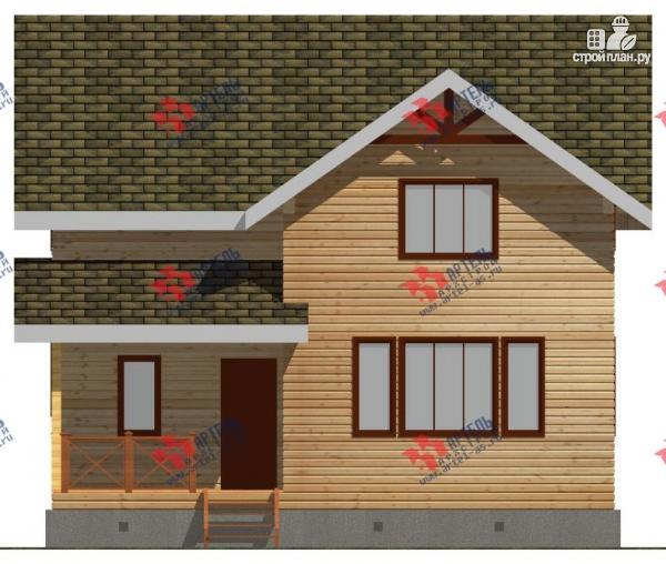 Фото 5: проект дом 9х9 из бруса