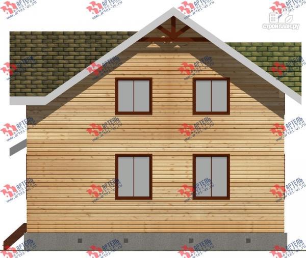 Фото 4: проект дом 9х9 из бруса