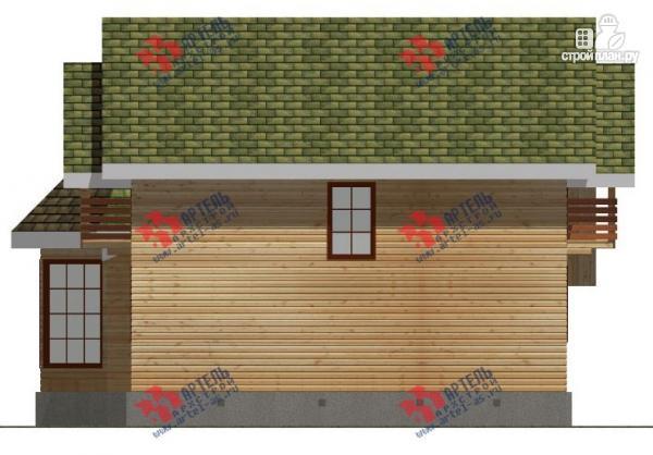 Фото 5: проект дом 9х14 из бруса