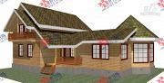 Проект дом 9х14 из бруса