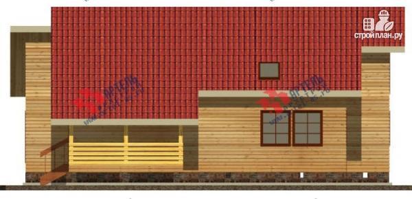 Фото 6: проект дом 10х14 из сухого профиля