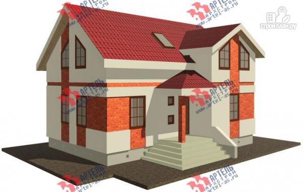 Фото: проект дом из газосиликатных блоков