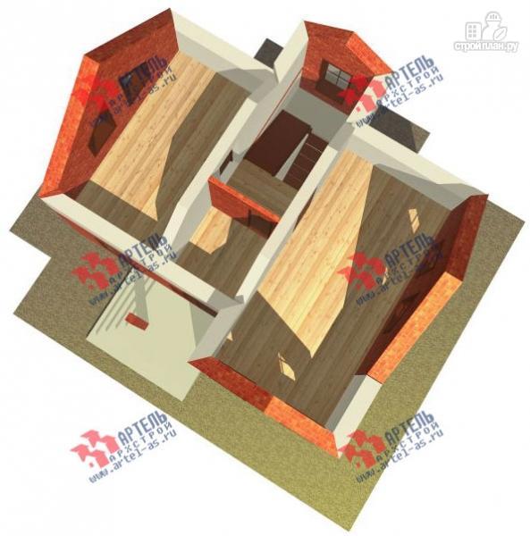 Фото 7: проект дом из газосиликатных блоков