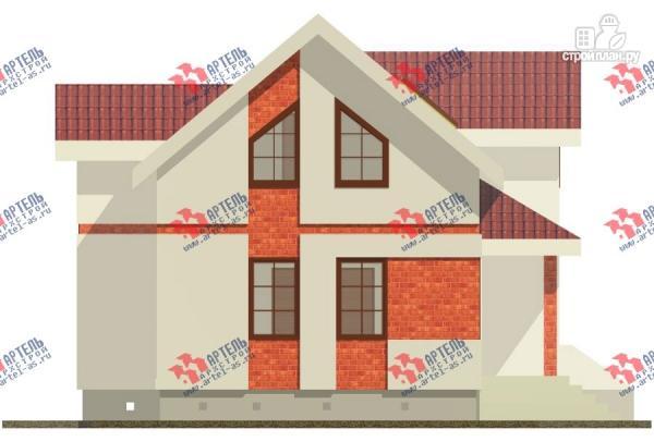 Фото 3: проект дом из газосиликатных блоков