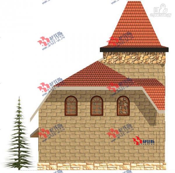 Фото 3: проект дом из газосиликатных блоков, с парной
