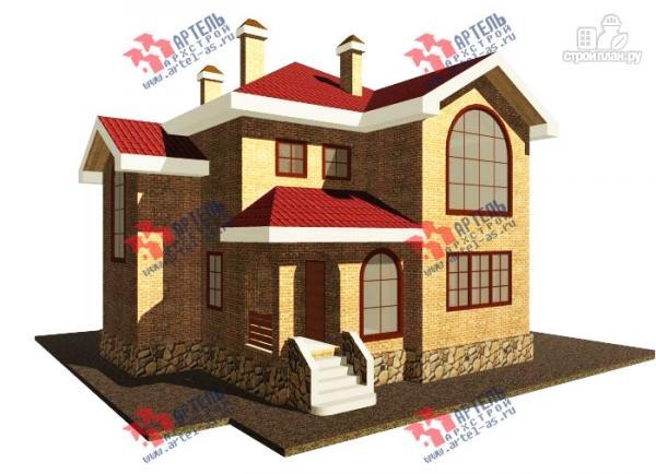 Проекты домов и коттеджей из кирпича, кирпичные дома
