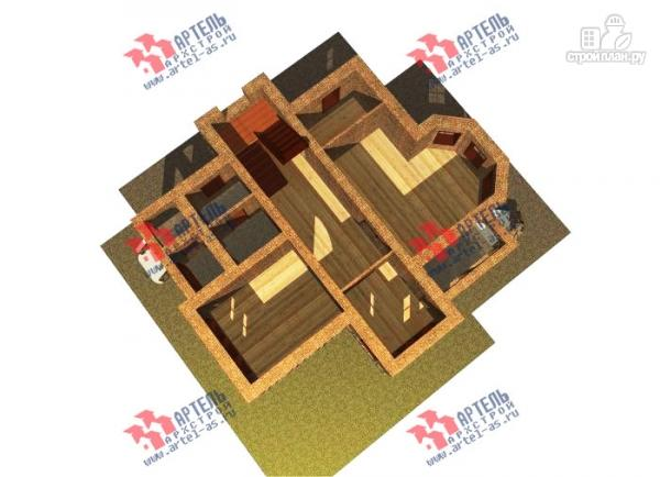 Фото 6: проект двухэтажный дом из газосиликатных блоков