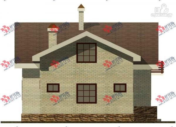 Фото 3: проект дом из блоков, с парилкой