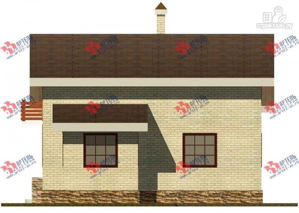 Фото 5: проект дом из блоков, с парилкой