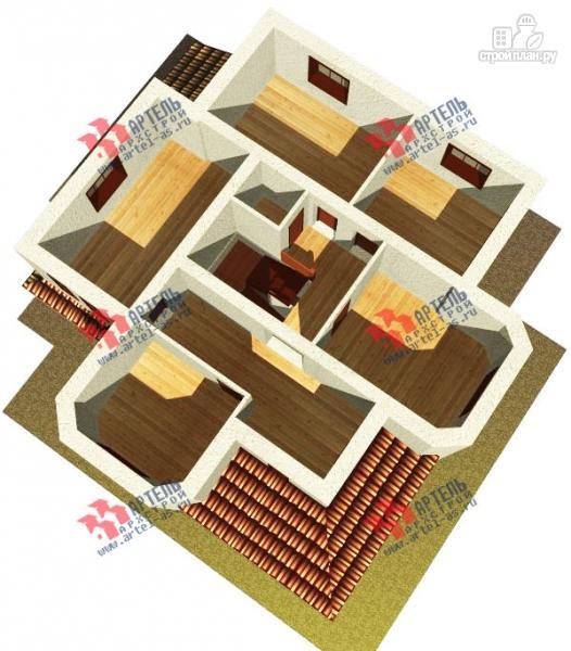 Фото 7: проект дом из газосиликатных блоков с гаражом