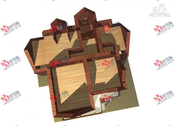 Фото 7: проект трехэтажный дом с сауной из газосиликатных блоков