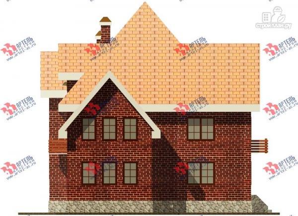 Фото 4: проект трехэтажный дом с сауной из газосиликатных блоков