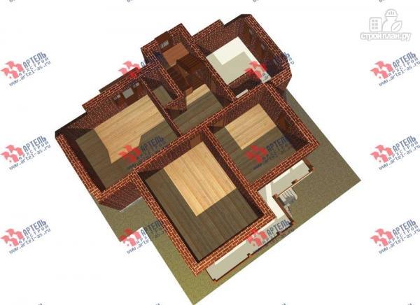 Фото 6: проект трехэтажный дом с сауной из газосиликатных блоков