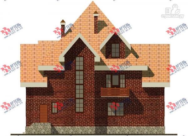 Фото 2: проект трехэтажный дом с сауной из газосиликатных блоков