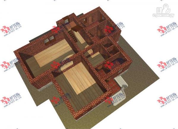 Фото 5: проект трехэтажный дом с сауной из газосиликатных блоков