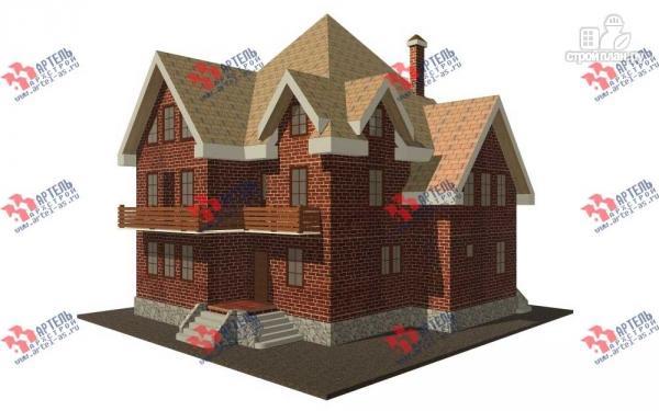 Фото: проект трехэтажный дом с сауной из газосиликатных блоков