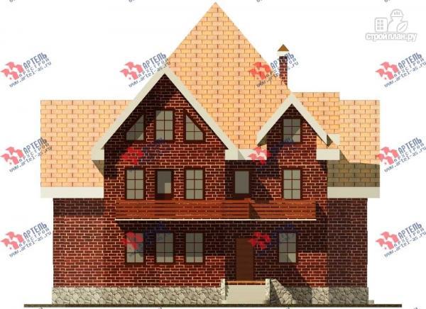 Фото 3: проект трехэтажный дом с сауной из газосиликатных блоков