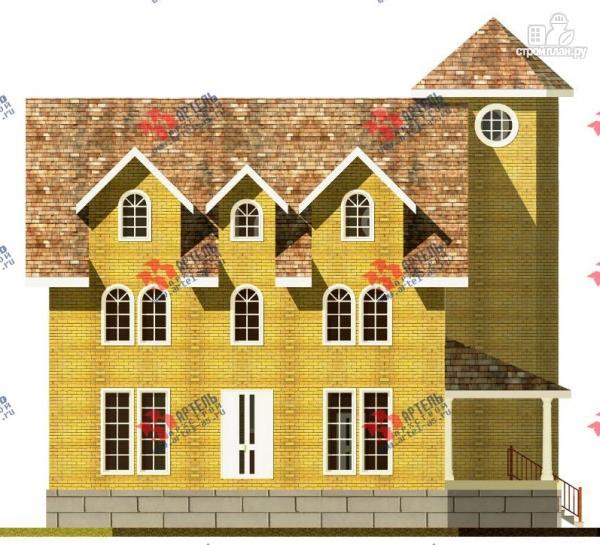 Фото 2: проект дом из газосиликатных блоков с детскими комнатами и игровой
