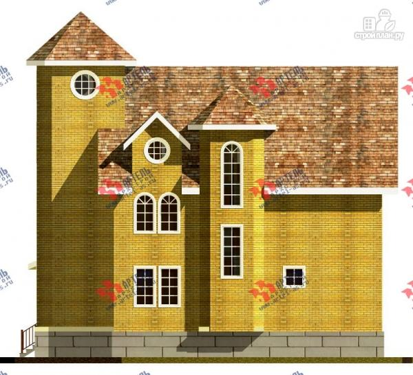 Фото 5: проект дом из газосиликатных блоков с детскими комнатами и игровой