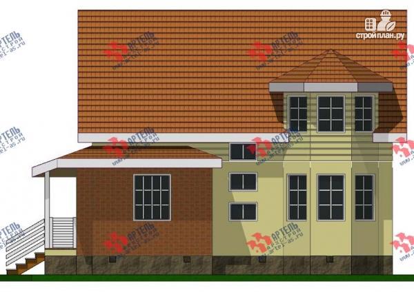 Фото 4: проект дом каркасный с эркером