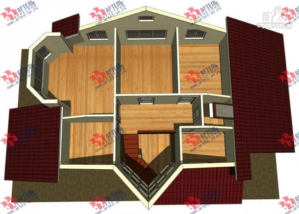 Фото 3: проект дом каркасный с гаражом