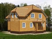 Проект дом из бруса 8 на 9