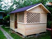 Проект деревянная беседка 4х3