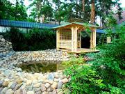 Проект японская беседка над водой