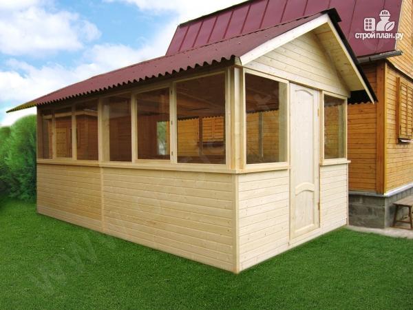 Фото 2: проект застекленный домик 5х3м