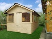 Проект застекленный домик 5х3м