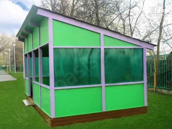 Фото 2: проект павильон 3.6х6м
