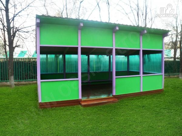 Фото 3: проект павильон 3.6х6м