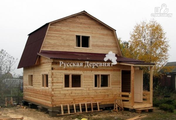 Фото 4: проект дачный домик 6х4, мансарда жилая
