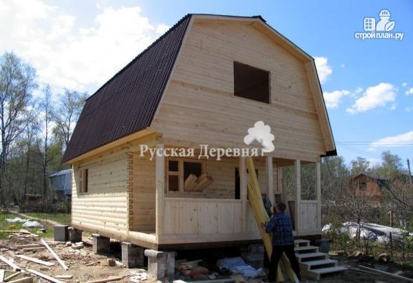 Фото 4: проект дом с террасой 6х1,5