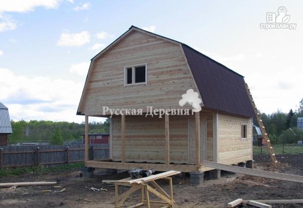 Фото 2: проект дом с террасой 6х1,5