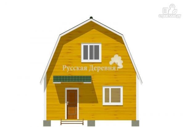 Фото 5: проект дом 6х6 с крылечком