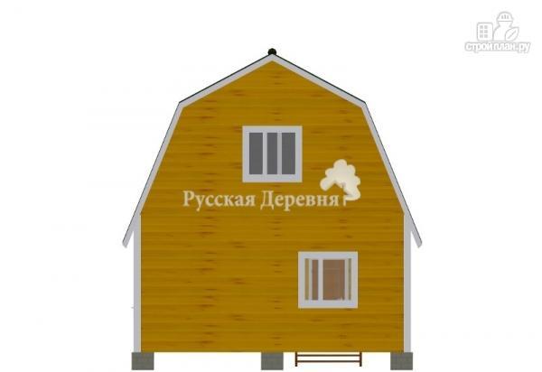 Фото 6: проект дом 6х6 с крылечком