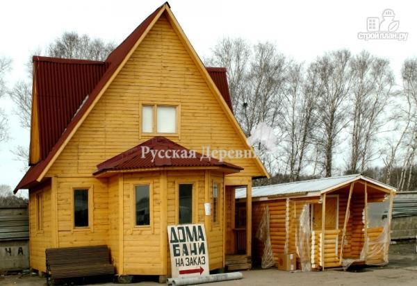 Фото 3: проект эркерный дачный дом с крыльцом