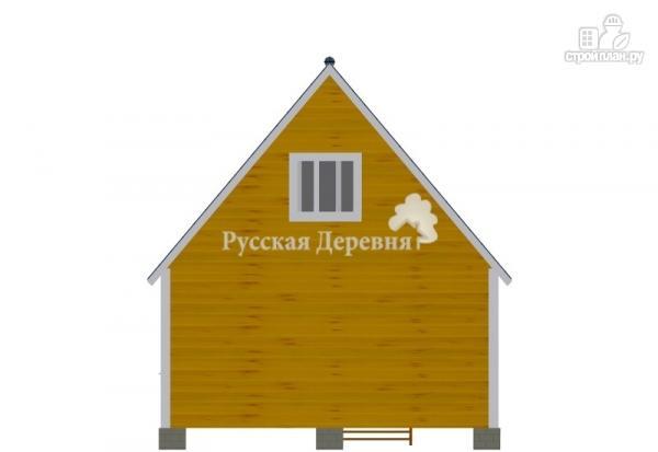 Фото 7: проект дом дачный 6х6 с крыльцом и мансардой