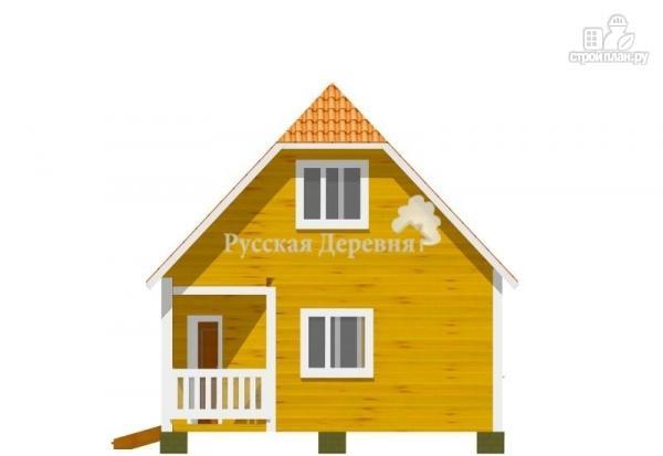Фото 2: проект дом с угловым крыльцом