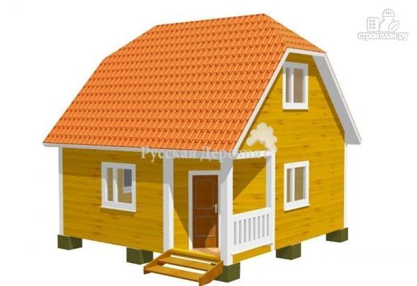 Фото: проект дом с угловым крыльцом