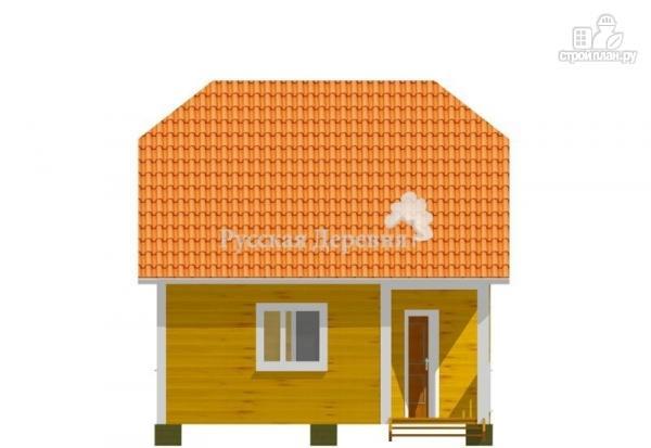 Фото 3: проект дом с угловым крыльцом