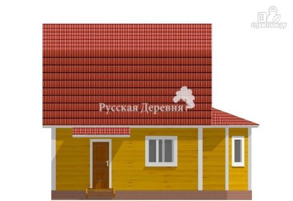 Фото 4: проект дом с крылечком, эркером и мансардой