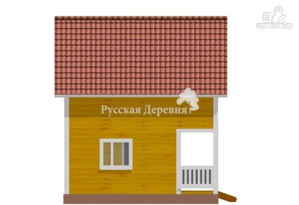 Фото 4: проект загородный мансардный дом 6х4,5 с террасой 6х1,5