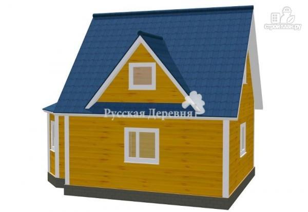 """Фото 2: проект эркерный загородный дом с мансардными окнами - """"кукушка"""""""