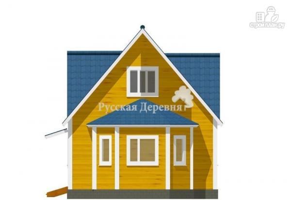 """Фото 3: проект эркерный загородный дом с мансардными окнами - """"кукушка"""""""