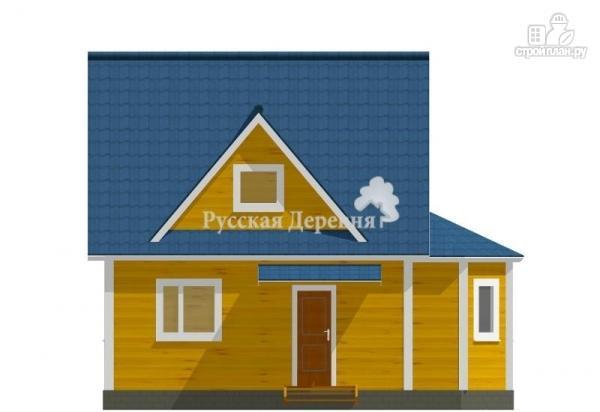 """Фото 4: проект эркерный загородный дом с мансардными окнами - """"кукушка"""""""
