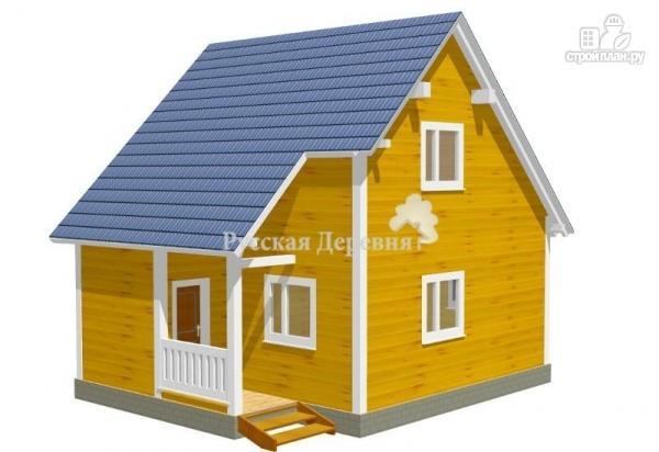Фото: проект загородный дом с крылечком 1,5х2
