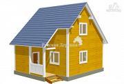 Проект загородный дом с крылечком 1,5х2